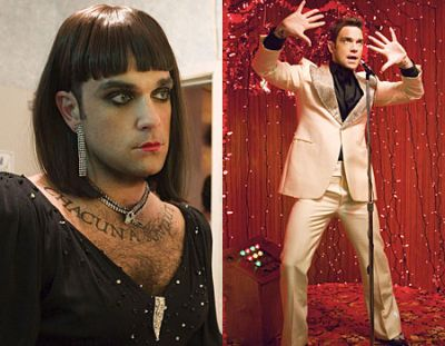 Robbie William's new video is a real drag